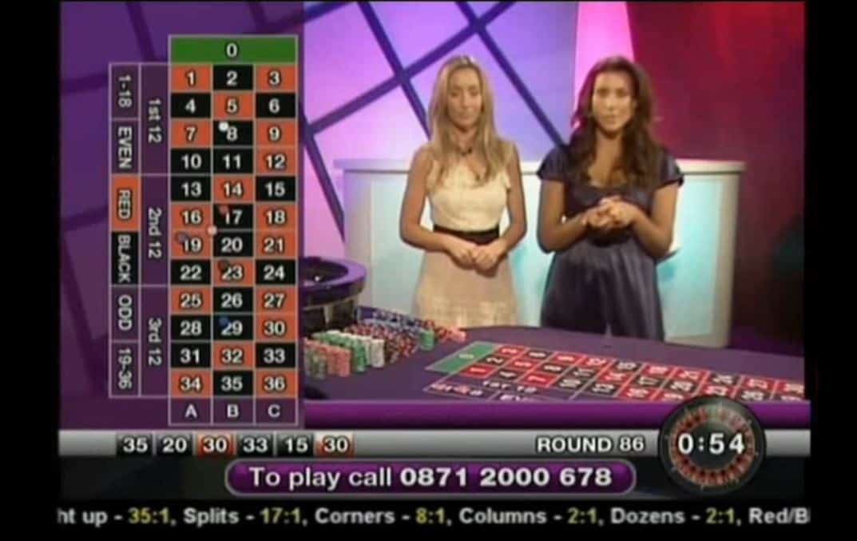 Roulette in de toekomst via de tv spelen